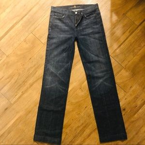 Men's 30x33.5 7 For All Mankind Straight Leg